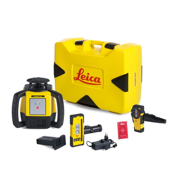 Leica Rugby 610 Laser Level Package