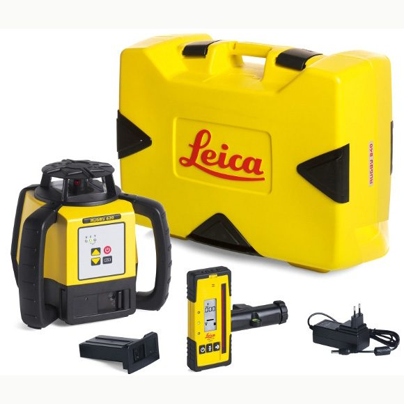 leica rugby laser