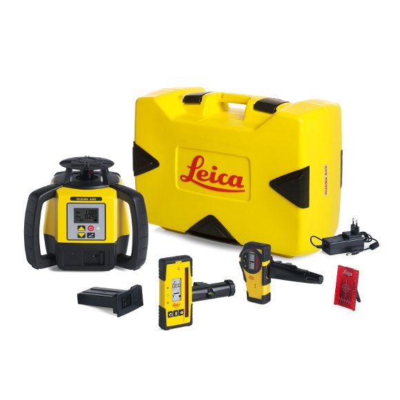 Leica Rugby 680 Grade Laser Level Package