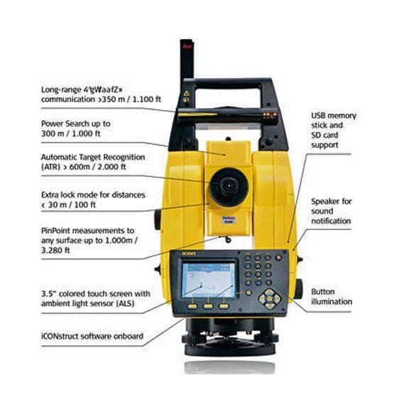 Leica iCON robot 60