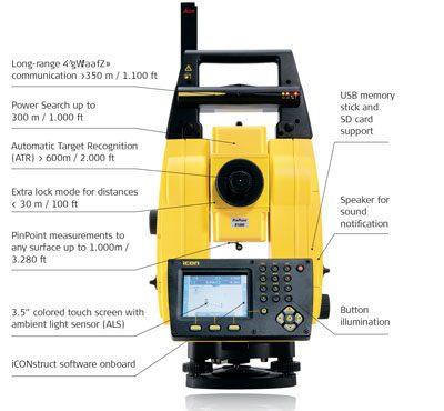 Leica Icon Robot 60 Construction Surveying Robotic