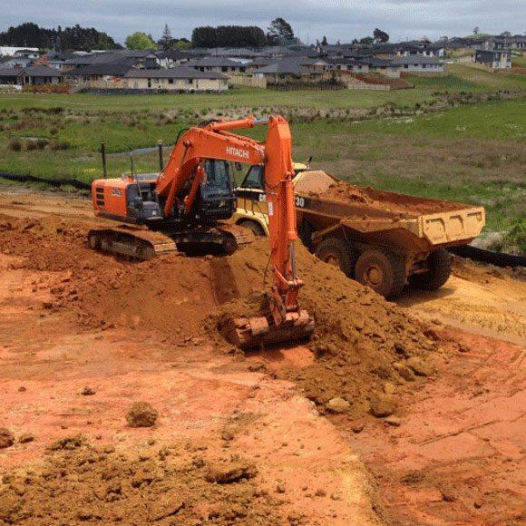 3D excavator machine control