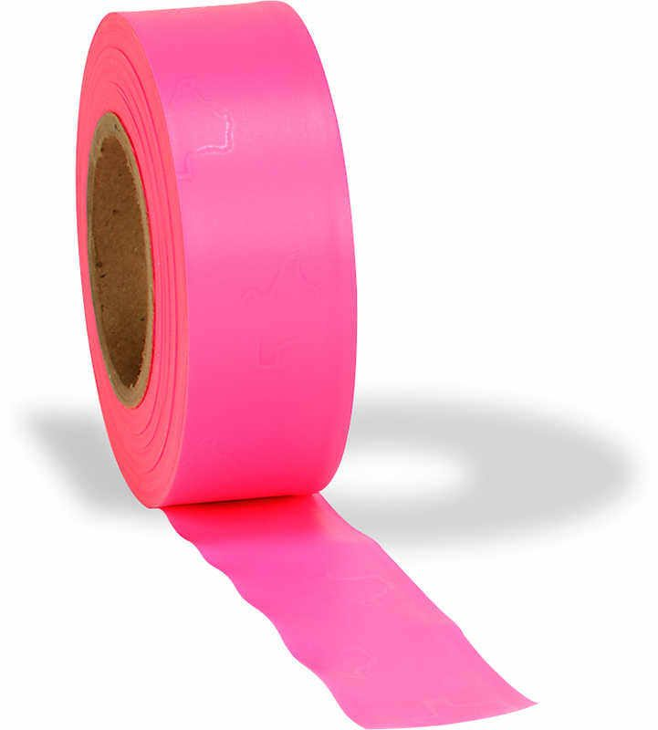 Pink Plastic Style Flagging Tape Building Amp Construction