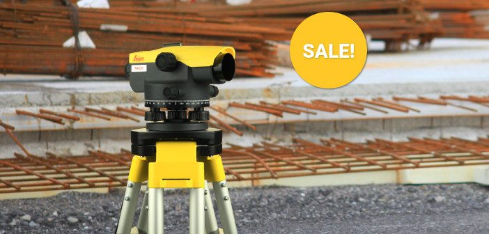 Leica Construction Technology Special Offers