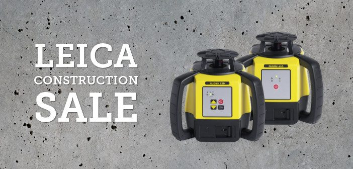Leica Construction Sale