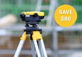 Leica Construction Sale