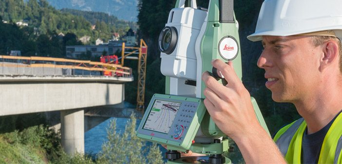 Leica FlexLine total stations