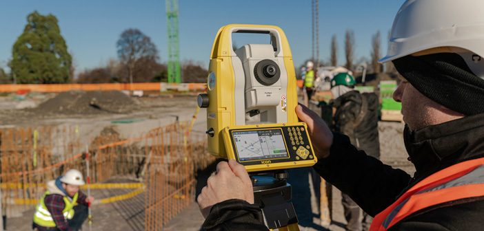 Leica iCON Total Station