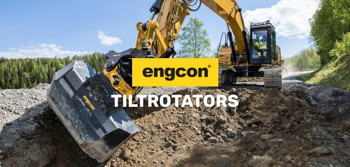 Engcon tiltrotator dealer
